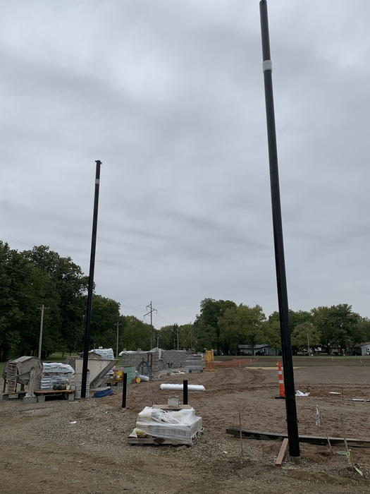 Softball backstop 10-12-18