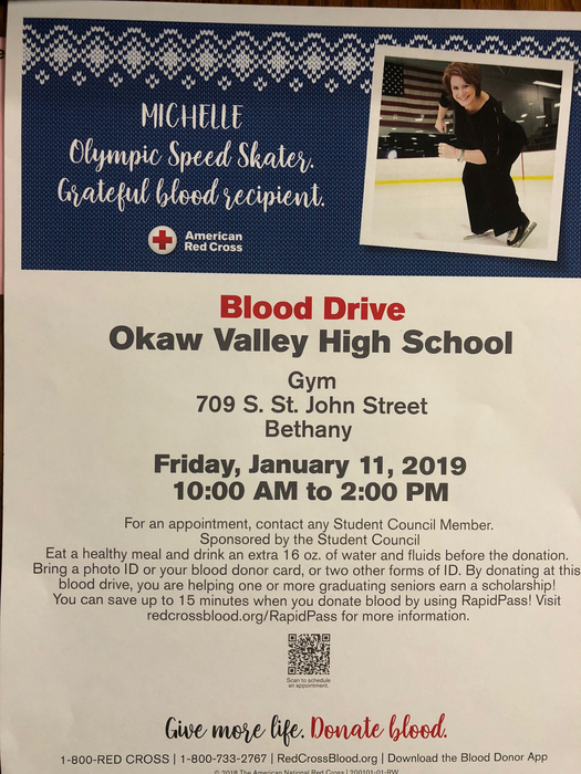 January Blood Drive 2019