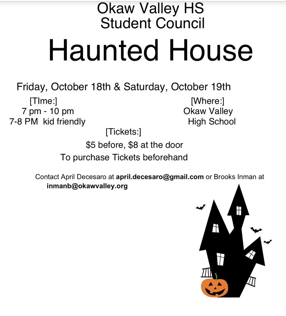 OVHS StuCo Haunted House 2019